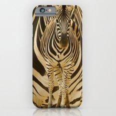 Zebra on Zebra iPhone 6s Slim Case
