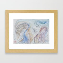 Spring(Forward) Framed Art Print