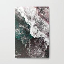 Abstract Sea, Water Metal Print