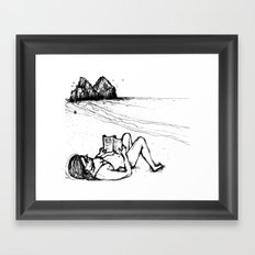 fafá de noronha Framed Art Print