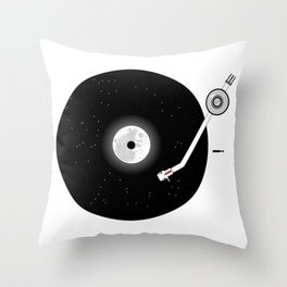The Music of the Moon and the Stars Throw Pillow