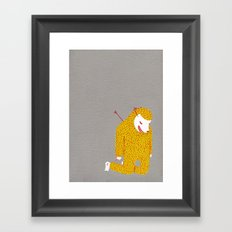 Everything is my fault Framed Art Print