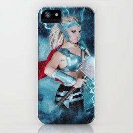 Female Thor iPhone Case