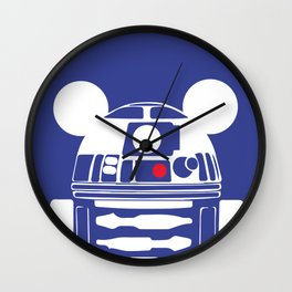 R2D2 with Ears Wall Clock