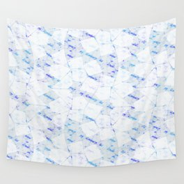 Ghost Town (Ice Jam) Wall Tapestry