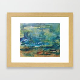 Water, Water, Water Framed Art Print