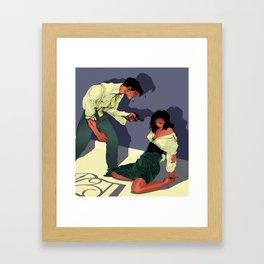 Gun Crazy Framed Art Print