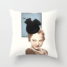 Hat Lady Throw Pillow