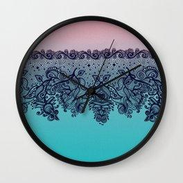 Lacey Trim Wall Clock