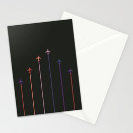 Retro Airplanes 10 Stationery Cards