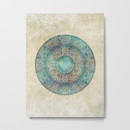 Moonchild Mandala Metal Print