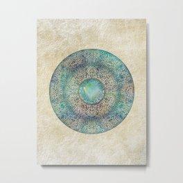 Moonchild Mandala Metal Print