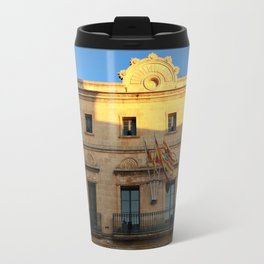 Historical Building on Menorca Travel Mug