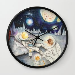 The Finding of Major Tom Wall Clock