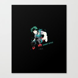 Shoot Style V3 Canvas Print