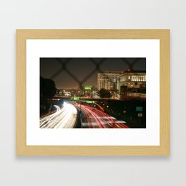 Visualize (LA) Framed Art Print