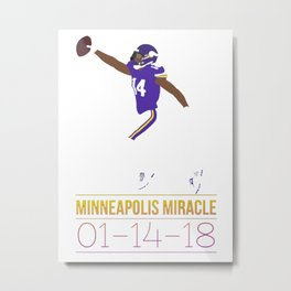 Minnesota Miracle Metal Print