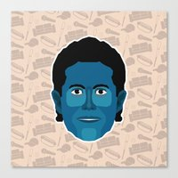 seinfeld Canvas Prints featuring Jerry Seinfeld - Seinfeld by Kuki