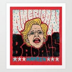 American Badass Art Print