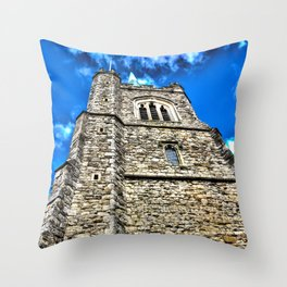 Medieval Church Throw Pillow