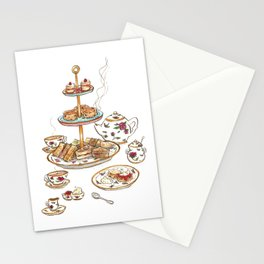 You are invited for tea Stationery Cards