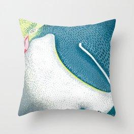 Hoiho Throw Pillow