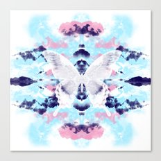 White Butterfly  Canvas Print