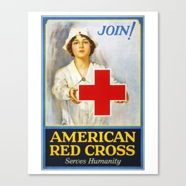 Join!, nurses week 2020, gifts for nurses, nurses week, nurse retirement gifts, cna gifts, WW1 Canvas Print