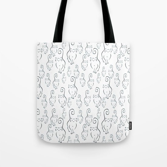 Scattered Silhouettes Tote Bag