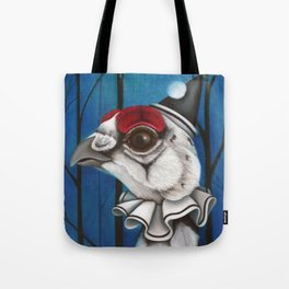 Pierrot the Ptarmigan Tote Bag