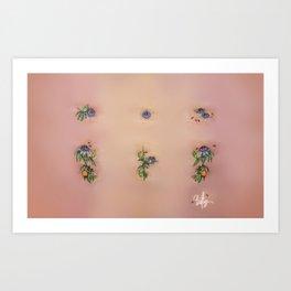"Passiflora Caerulea ""Blue Passion Flower"" Art Print"