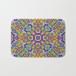 Arabesque kaleidoscopic Mosaic G520 Bath Mat
