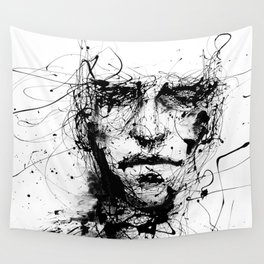 lines hold the memories Wall Tapestry