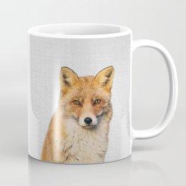 Fox - Colorful Coffee Mug