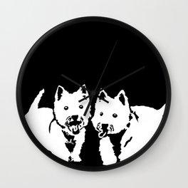 "West Highland Terrier ""The Westie"" Man's Best Friend Wall Clock"