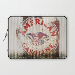 American Gasoline - Vintage Label Laptop Sleeve