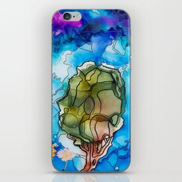 Abstract Tree Painting iPhone Skin