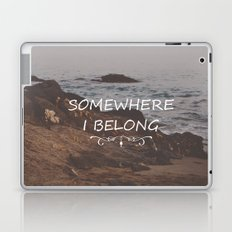 Somewhere i belong Laptop & iPad Skin
