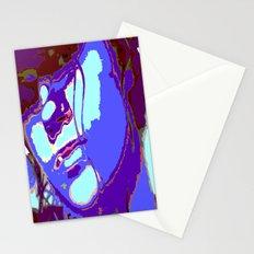 Blue Lagoon Geisha  Stationery Cards