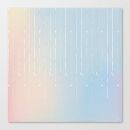 Stars & Moons Canvas Print