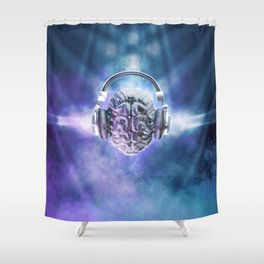 Cognitive Discology Shower Curtain