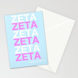 ZETA HAVE A NICE DAY Stationery Cards