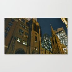 Midtown at Midnight Canvas Print