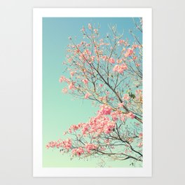Spring Kissing the Sky Art Print