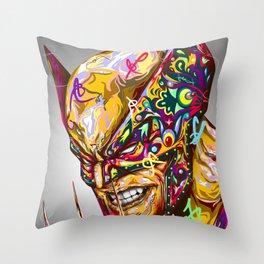 Exotic Mutant Throw Pillow