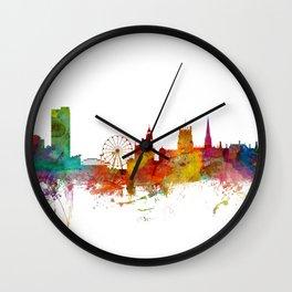 Sheffield England Skyline Wall Clock