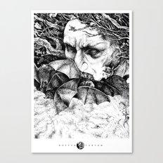 Batsorcerer Canvas Print