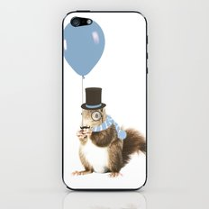 party squirrel iPhone & iPod Skin