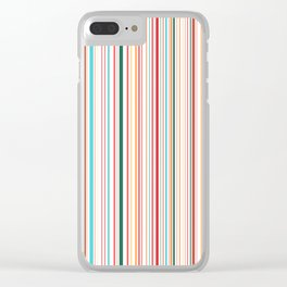 WHY CAN'T BARCODES BE COLORFUL? Clear iPhone Case