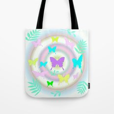 butterfly station Tote Bag